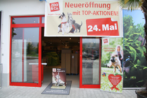 Am 24. Mai  ging ein neuer Zoo & Co. Markt in Baden Baden an den Start.