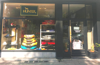 Der Hunter Brand Store in Brüssel. Foto: Hunter
