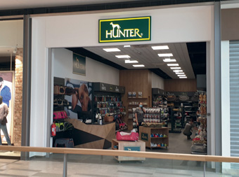 Der neue Hunter Brand Store in Ljubljana